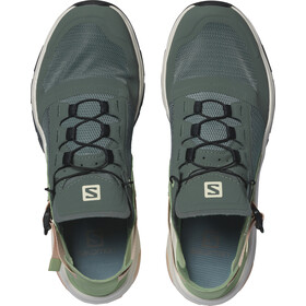 Salomon Techamphibian 4 Zapatillas Mujer, balsam green/spruce green/bellini